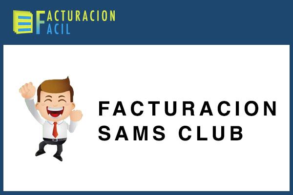 Facturacion SAMS Club