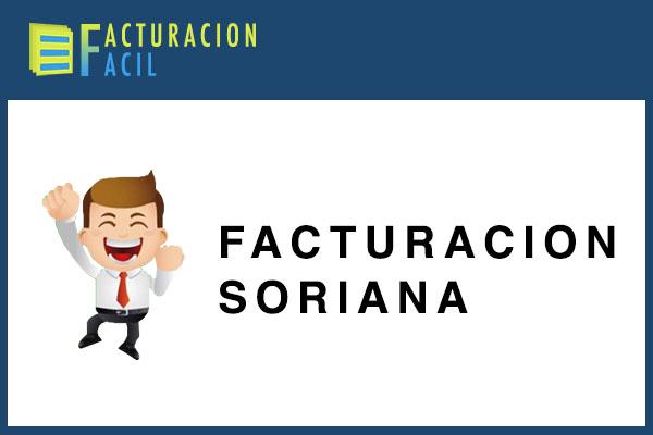 Facturacion Soriana
