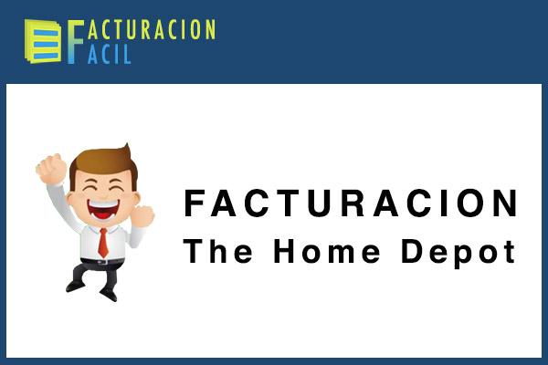 Facturacion The Home Depot