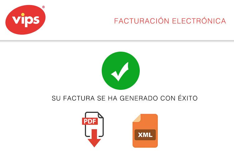 descargar factura vips mx