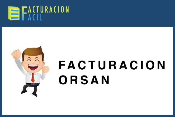 Facturacion Orsan