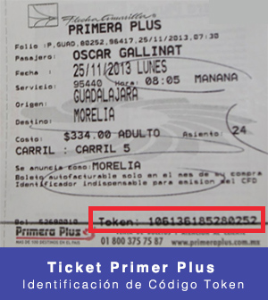 ticket de primera plus