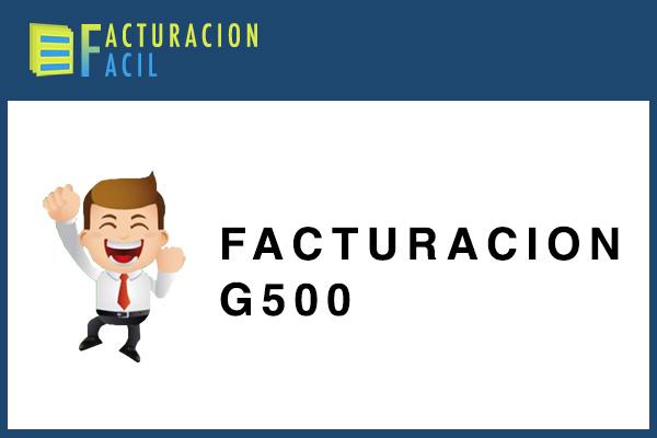 Facturacion G500