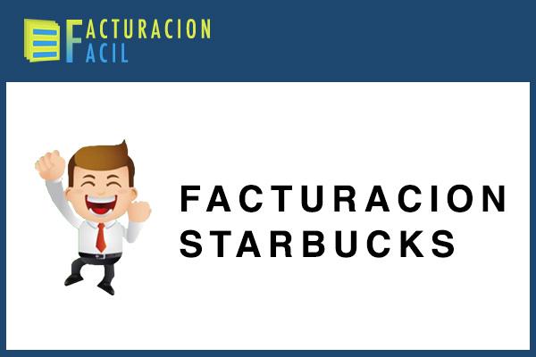 Facturacion Starbucks