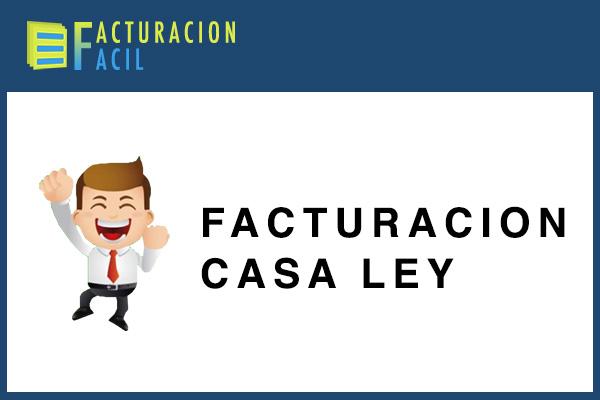 Facturacion Casa Ley