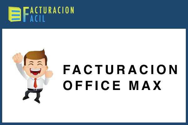 Facturacion OfficeMax
